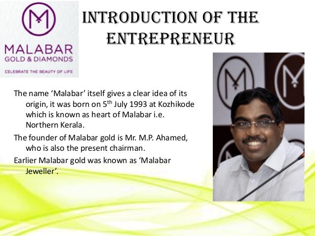 Malabar Gold And Diamonds Owner