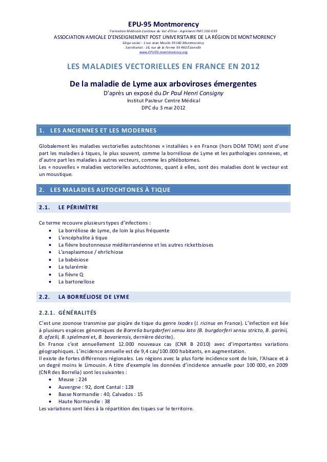 EPU-95 Montmorency Formation Médicale Continue du Val d'Oise - Agrément FMC 100-039  ASSOCIATION AMICALE D'ENSEIGNEMENT PO...