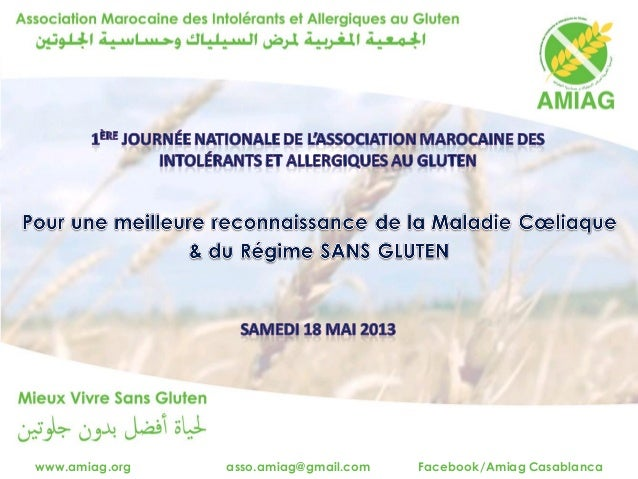 www.amiag.org asso.amiag@gmail.com Facebook/Amiag Casablanca
