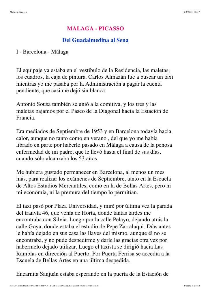 Malaga-Picasso                                                               22/7/05 18:47                                ...