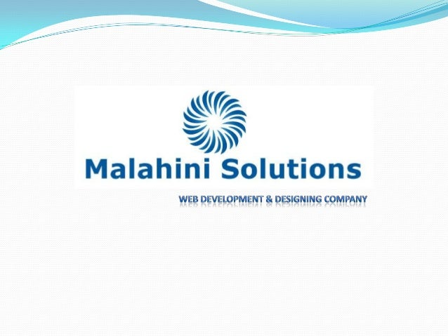 About UsMalahini Solutions is a fast growing software development companyoffering software development solutions to busine...