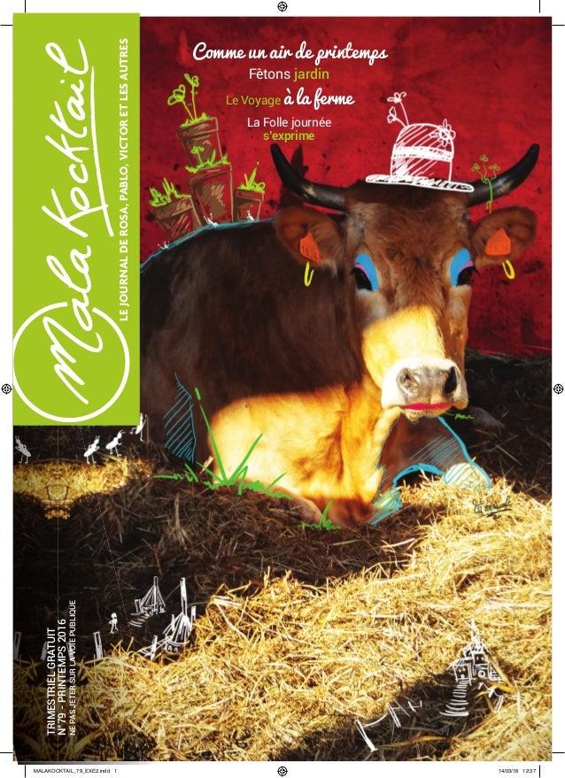 LEJOURNALDEROSA,PABLO,VICTORETLESAUTRES La Folle journée s'exprime Le Voyage à la ferme Fêtons jardin Comme un air de prin...