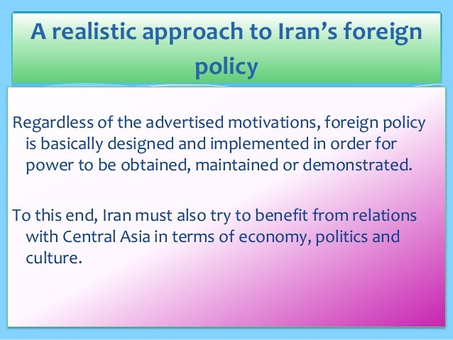 the viewpoint of iran towards the united states The united states has had sanctions on iran for most of the period since the 1979 islamic revolution, with sanctions have been a regular feature of us policy toward iran for more than three decades.