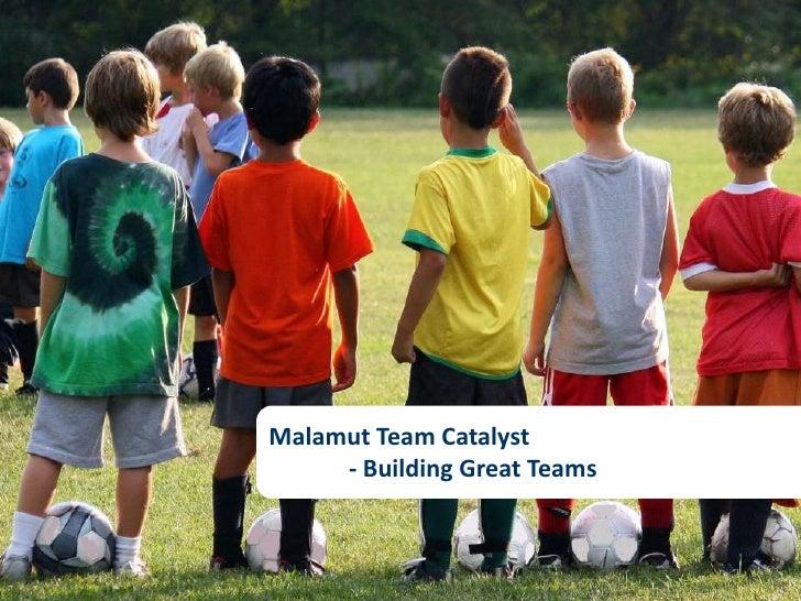 Malamut Team Catalyst<br />- Building Great Teams<br />