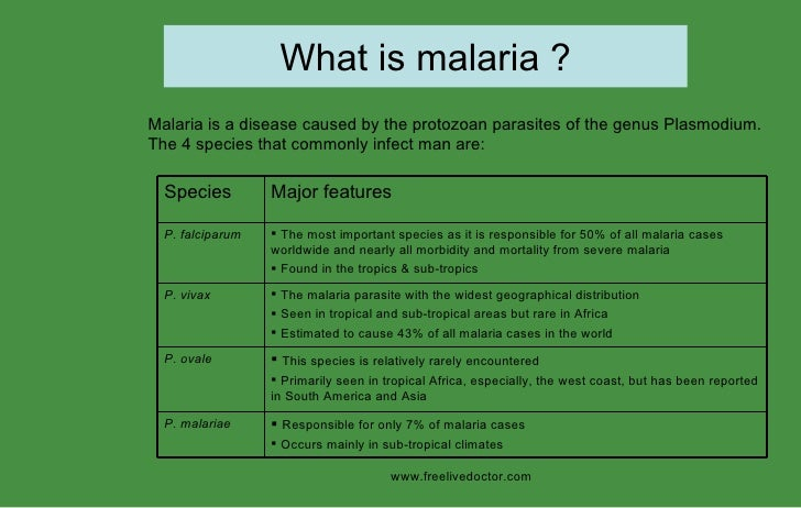 the explanation of the disease malaria Malaria is caused by parasites carried by mosquitoes the insects pick up the  parasite by biting someone who already has the disease malaria is then passed .
