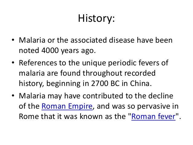 Malaria ppt. Slide 3