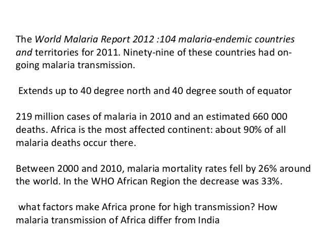 Malaria control strategies in india Slide 3