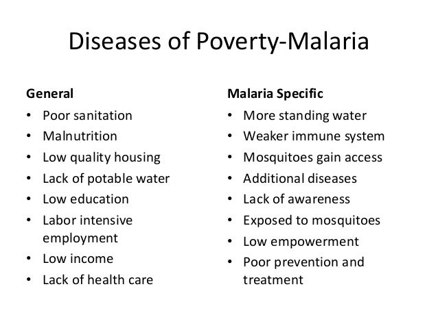 malaria ib food and health  prevention and treatment 4 key points of essay assumptions • malaria