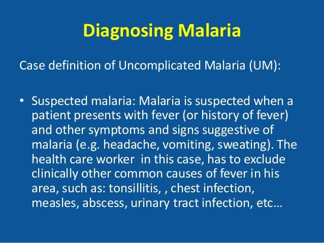Malaria in pregnancy - Case and review
