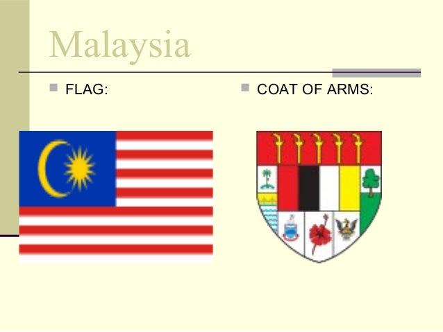 Malaysia  FLAG:  COAT OF ARMS: