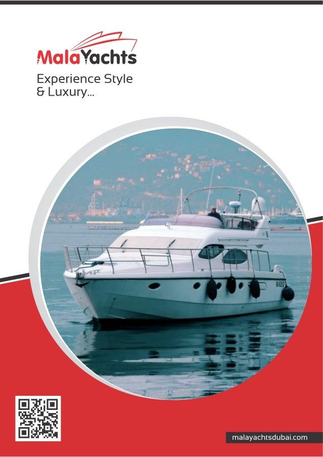 Mala Yachts Dubai Italian and British designed yachts
