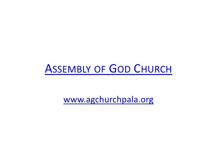 Assembly of God Church<br />www.agchurchpala.org<br />
