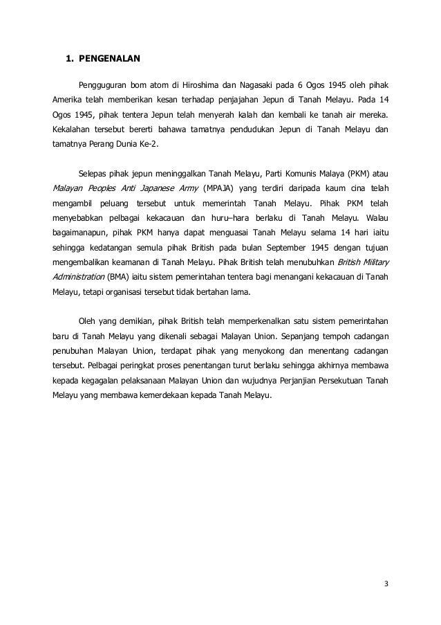 Malayan union Slide 3