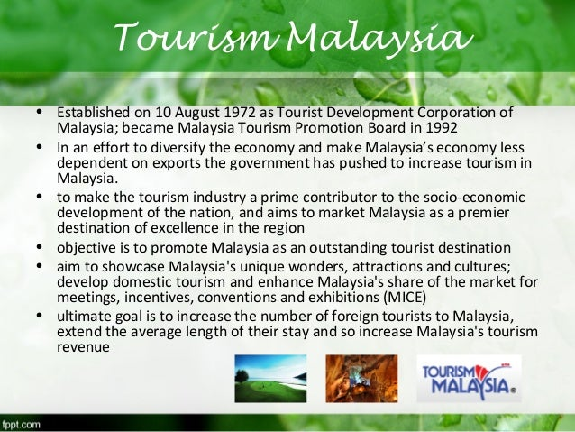 how to promote tourism in malaysia essay Putrajaya, 13 may 2016 – a total of 16 students from upper primary and lower secondary schools were announced as winners of last year's tourism malaysia essay competition, during a prize-giving ceremony at the putrajaya international convention centre (picc) today the first prize winners of both categories received rm2,000.