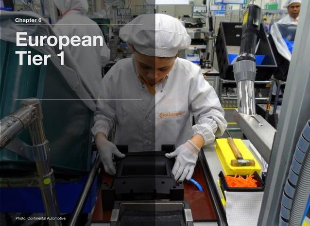 Chapter 6 European Tier 1 Photo: Continental Automotive