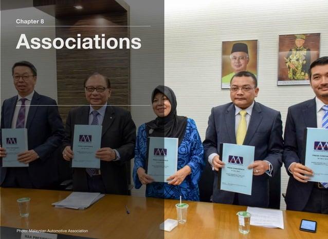 Chapter 8 Associations Photo: Malaysian Automotive Association