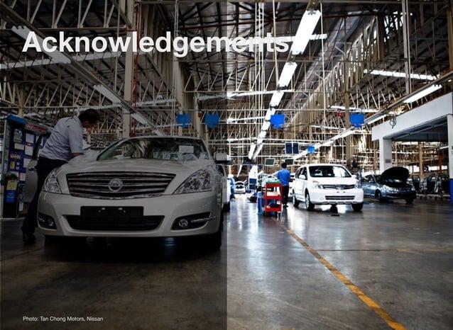 Acknowledgements Photo: Tan Chong Motors, Nissan