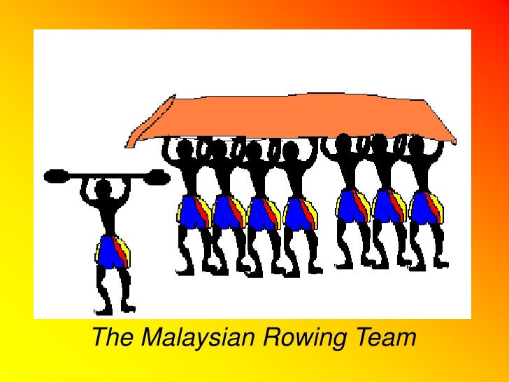 The Malaysian Rowing Team<br />