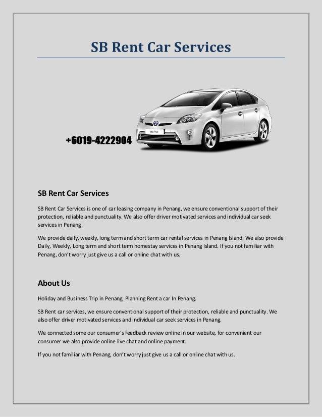 Malaysia Car Rental
