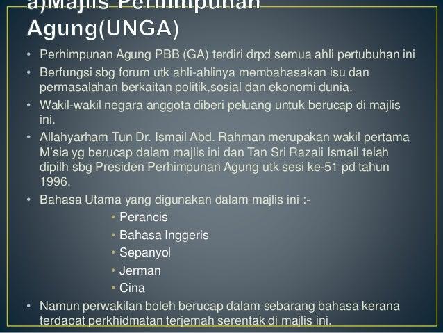 Malaysia Dan Pertubuhan Bangsa Bangsa Bersatu Pbb
