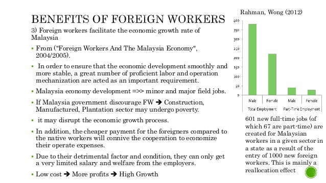 the impact of foreign labor on malaysian society Current information and listing of economic research for evelyn shyamala devadason 2012 the impact of foreign labor , asian economic and social society.