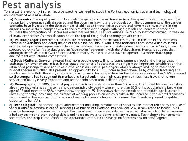 macro environment analysis on airasia and its Introduction of airasia essay  what is the macro and industry environment for new budget airlines in the asia- pacific region  essay value chain analysis.