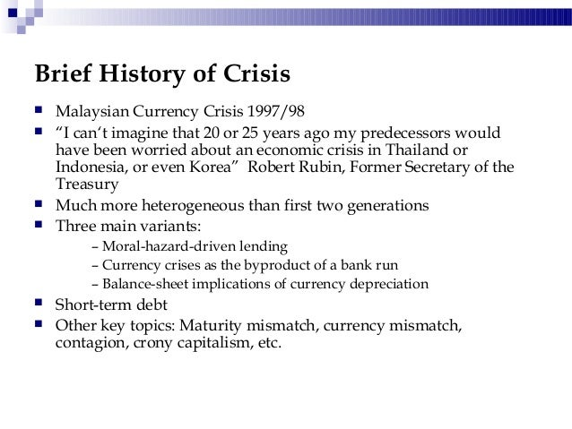 financial crisis hit malaysia Weathered the financial crisis: policies and  page 2 page 12pama1hpae- ap-phpg 1890 1900 1910 1920 1930 1940 1950 1960 1970 1980 1990 2000 2010 0 5 1 0 1 5 2 0 how malaysia weathered the financial crisis: policies and possible lessons mah-hui lim and soo-khoon goh  us strictly speaking, the second crisis to hit asia was more a trade.