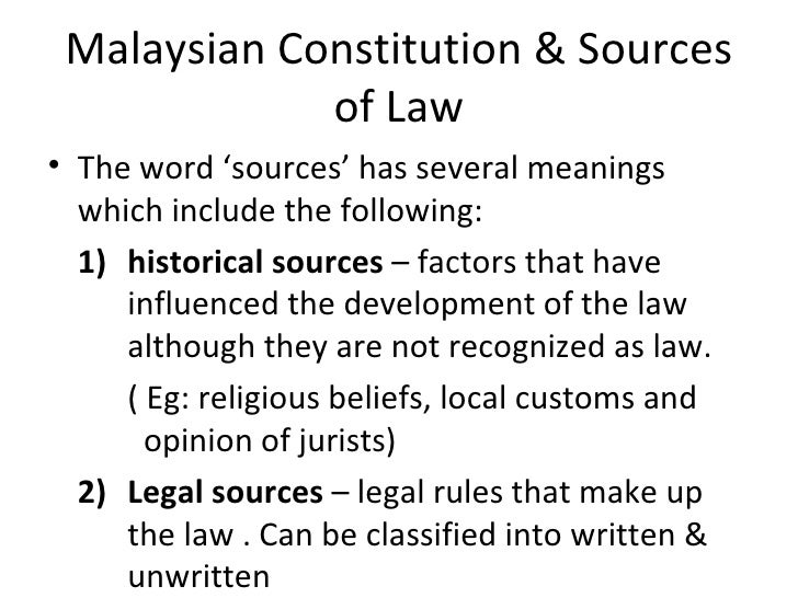 sources of law pdf notes
