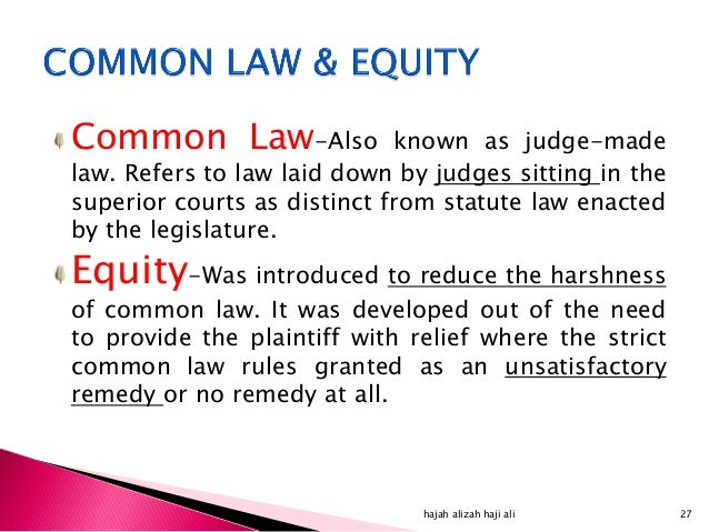 common law as a legal system The legal system part 1 dave brown loading  the differences between common law and civil law systems - duration: 10:31 travis ingram 88,831 views.