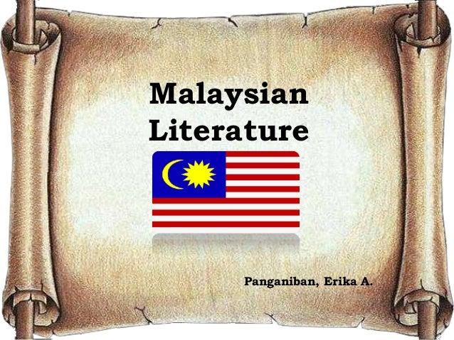 Malaysian Literature Panganiban, Erika A.