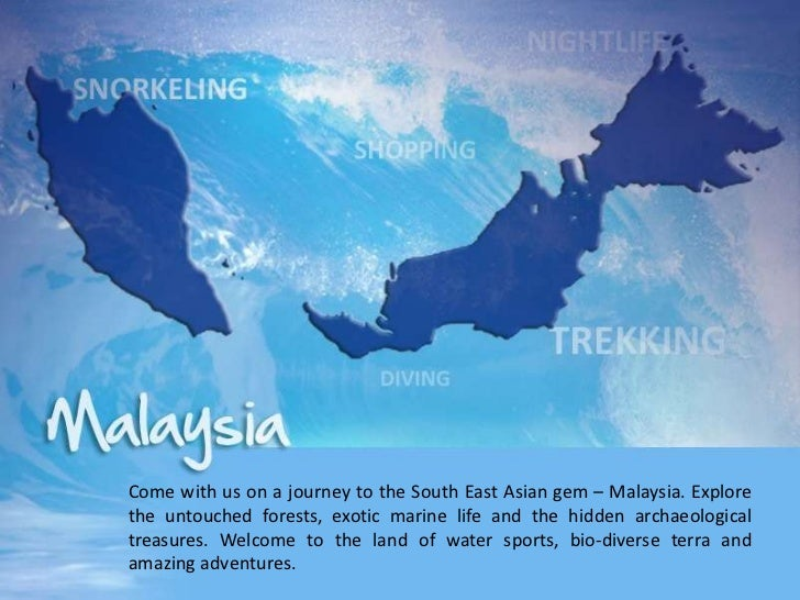 Come with us on a journey to the South East Asian gem – Malaysia. Explorethe untouched forests, exotic marine life and the...