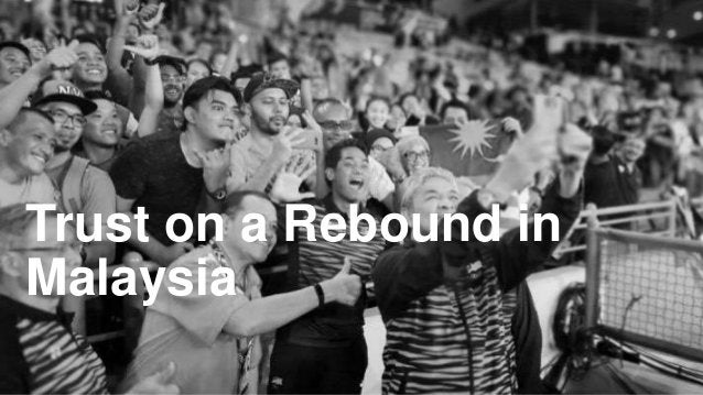 Trust on a Rebound in Malaysia