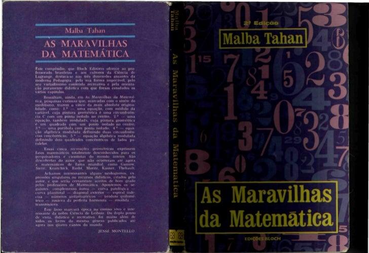 MALBA TAHAN                                                          AS MARAVILHAS                                        ...