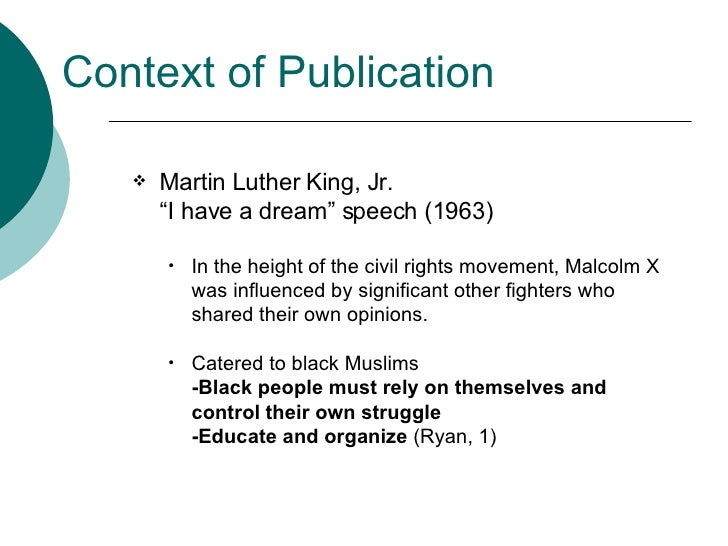 malcolm x a homemade education thesis