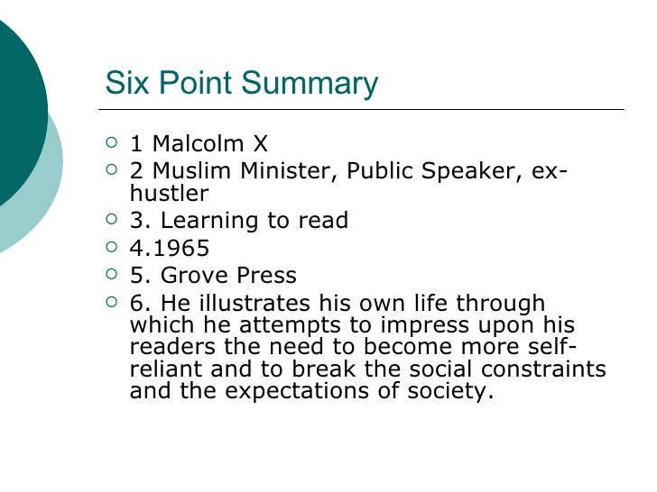 essays on malcolm x learning to read Find and download essays and research papers on malcolm x learning read.