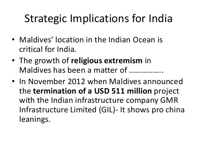 Maldives India Ir For Upsc International Relations