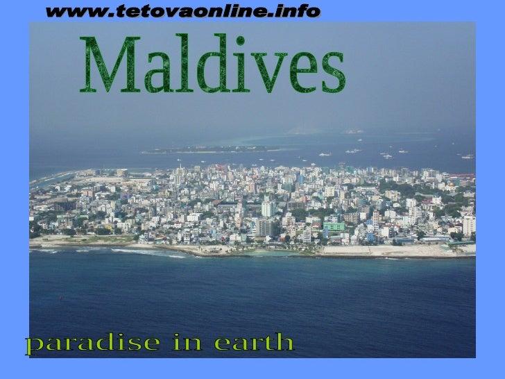 Maldives www.tetovaonline.info paradise in earth