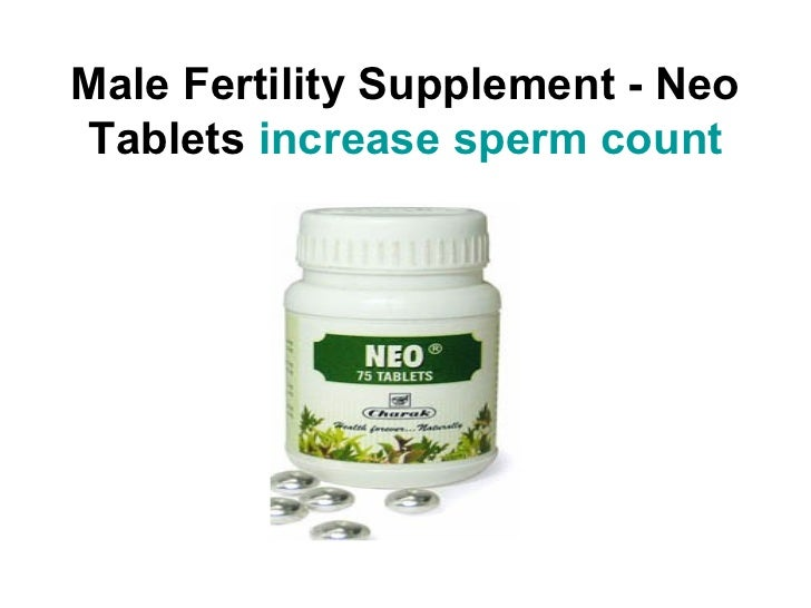 Best supplement increase sperm count