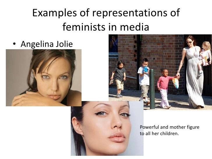 examples of feminism in the media