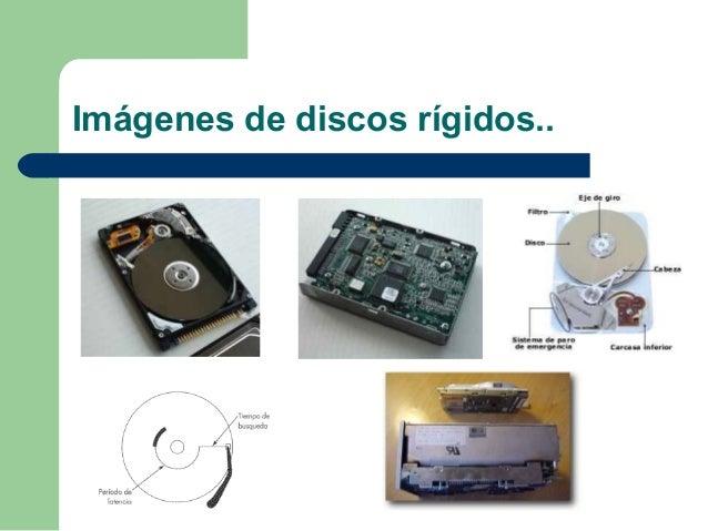 Imágenes de discos rígidos..
