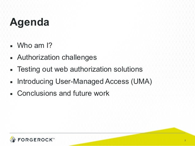 Consumerizing Industrial IoT Access Control: Using UMA to Add Privacy and Usability to Strong Security Slide 2