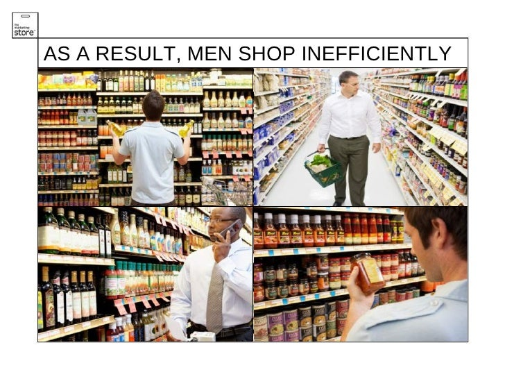 An Anatomy Of The Male Shopper