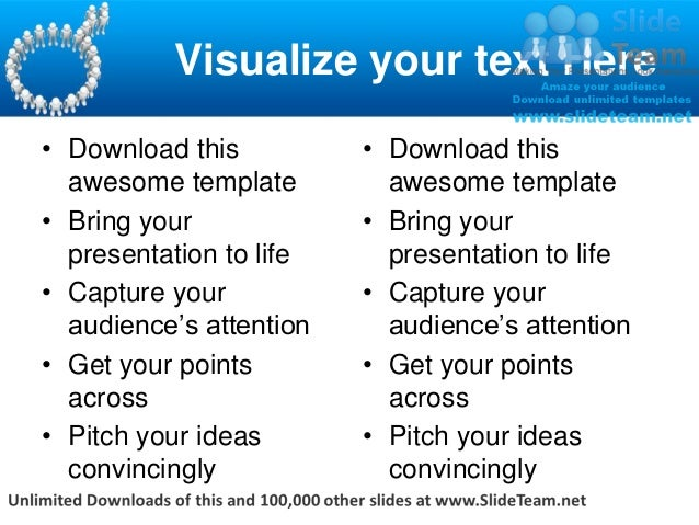 Visualize your text Here• Download this          • Download this  awesome template         awesome template• Bring your   ...