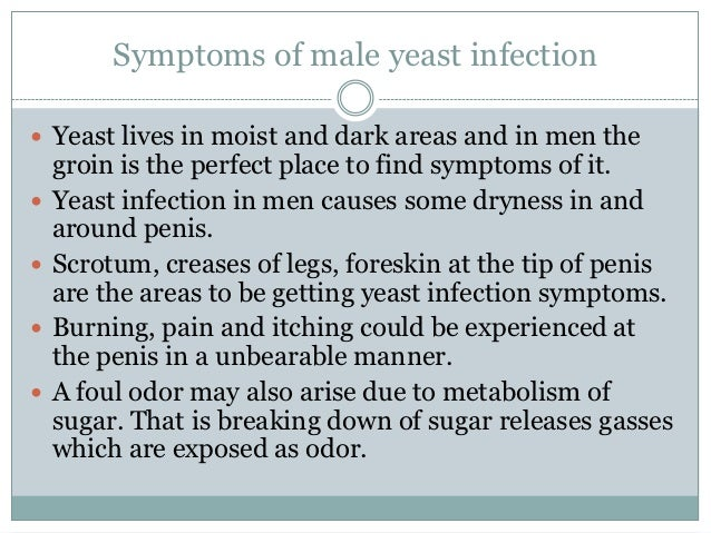 over the counter yeast infection treatment male