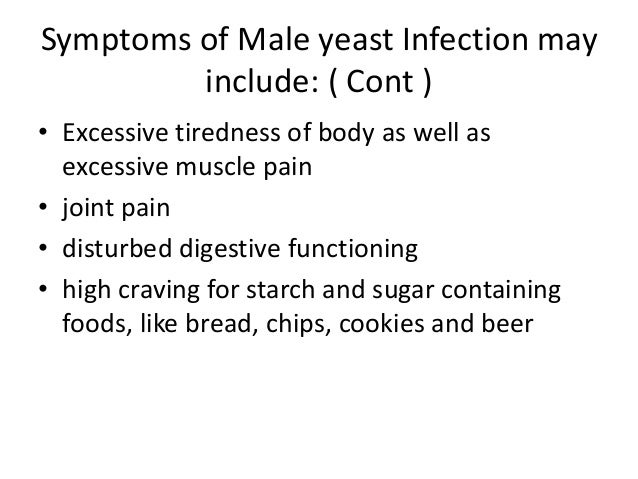 male yeast infection symptoms causes treatment and