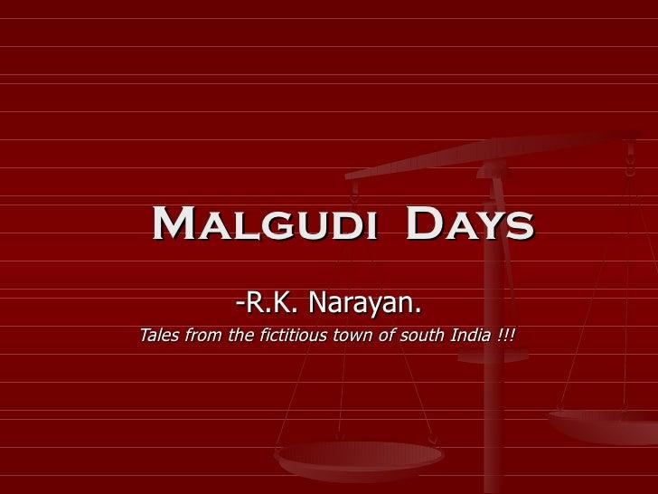 Malgudi Days Hindi Pdf