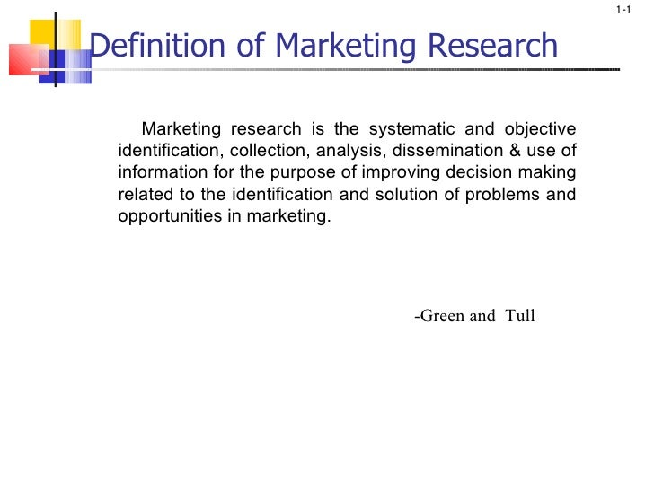 Definition of Marketing Research <ul><li>Marketing research is the systematic and objective identification, collection, an...