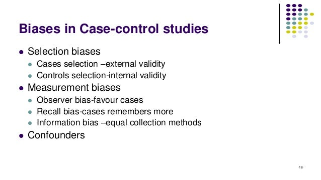 case control studies advantages What is the difference between a nested case-control study and retrospective cohort study  in nested case-control studies,.