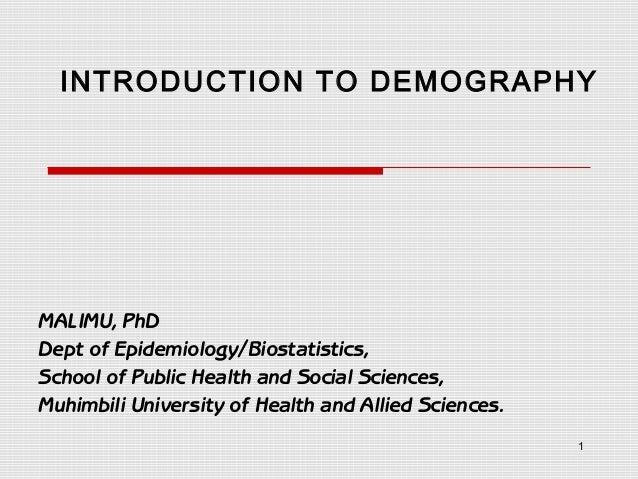 Malimu demography