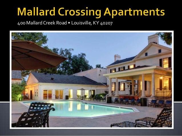 Mallard Crossing Apartments Louisville Ky